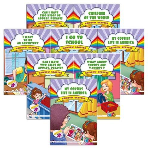 Rainbow Readers 4 (İng. Hikaye Tk)