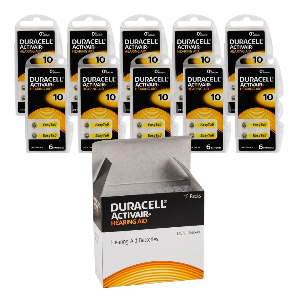 Duracell Activair 10 Kulaklık Pili 6lı Blister - 10lu Paket