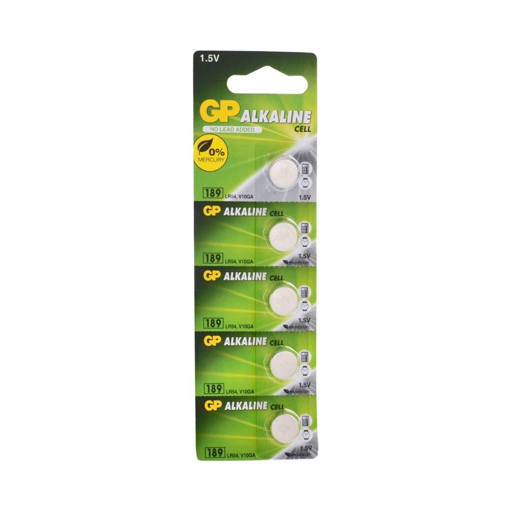 GP LR54 189 Alkalin Pil 5li Blister