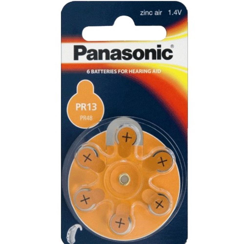 Panasonic 13 Kulaklık Pili 6lı