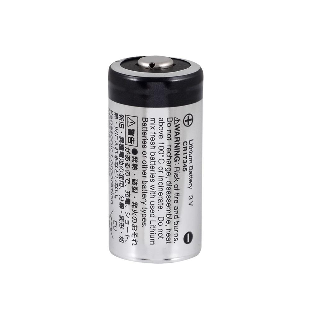 Panasonic CR-123PE/BN - CR123A Lithium Pil -Bulk
