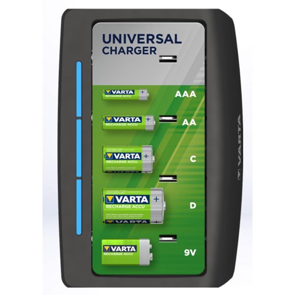 Varta 57648 Universal Pil Şarj Cihazı