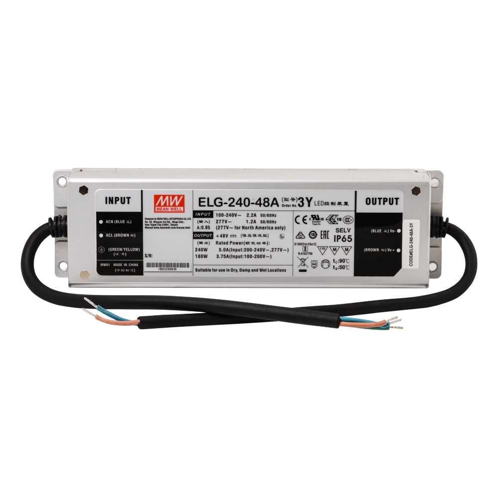 Mean Well ELG-240-48A 240W 48V 5A Led Driver