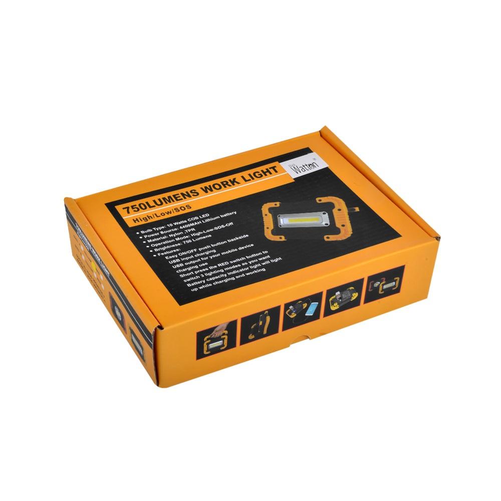 Watton WT-330 Şarjlı Projektör Fener