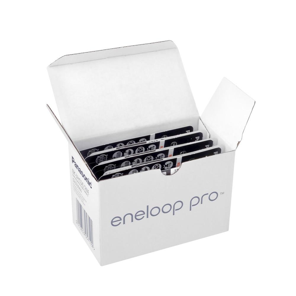 Panasonic Eneloop PRO BK-3HCDE/2BE - 1.2V 2500 mAh - Ni-Mh - AA - 2li Blister