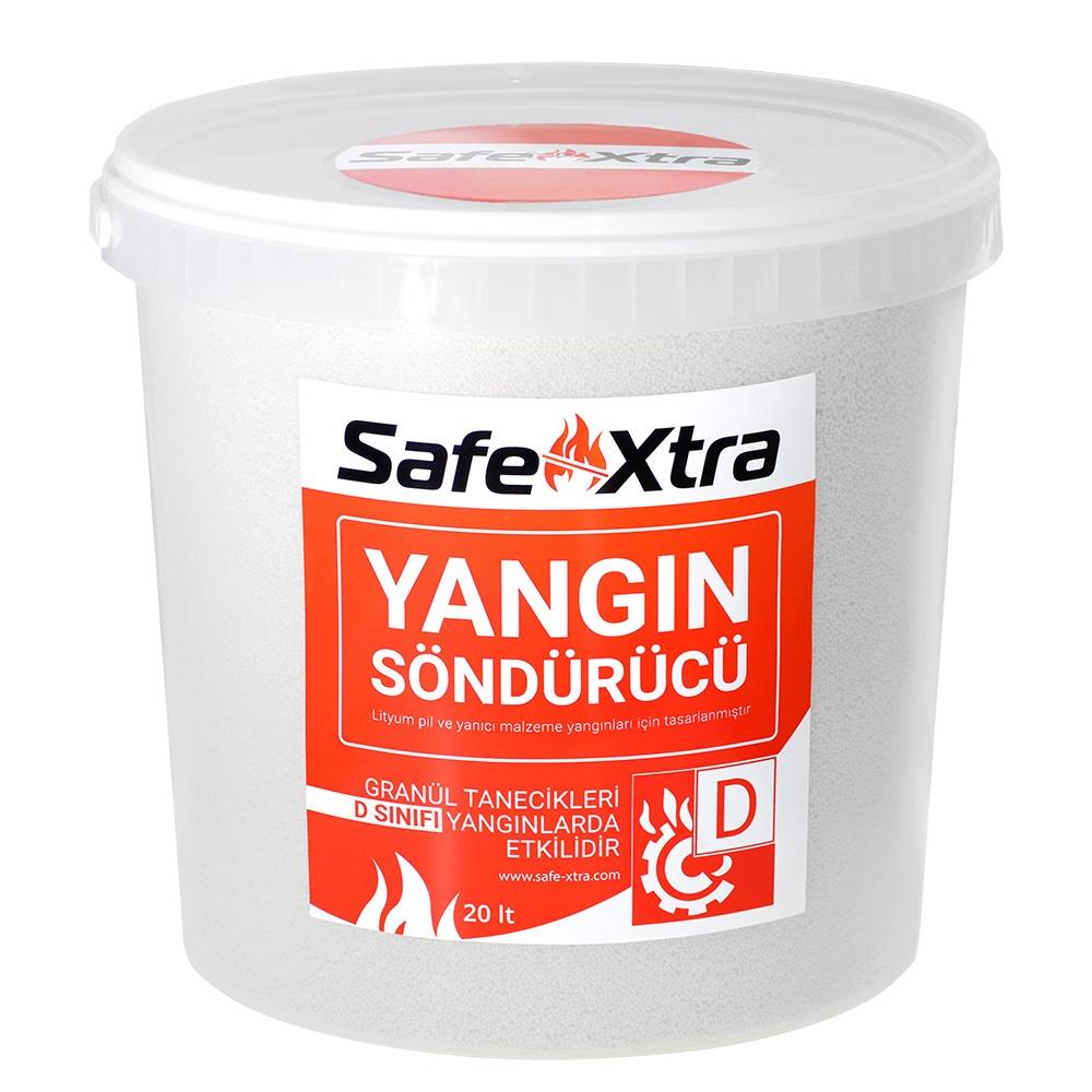 Safe-Xtra Pil ve Bataryalar için Yangın Söndürücü - 20lt