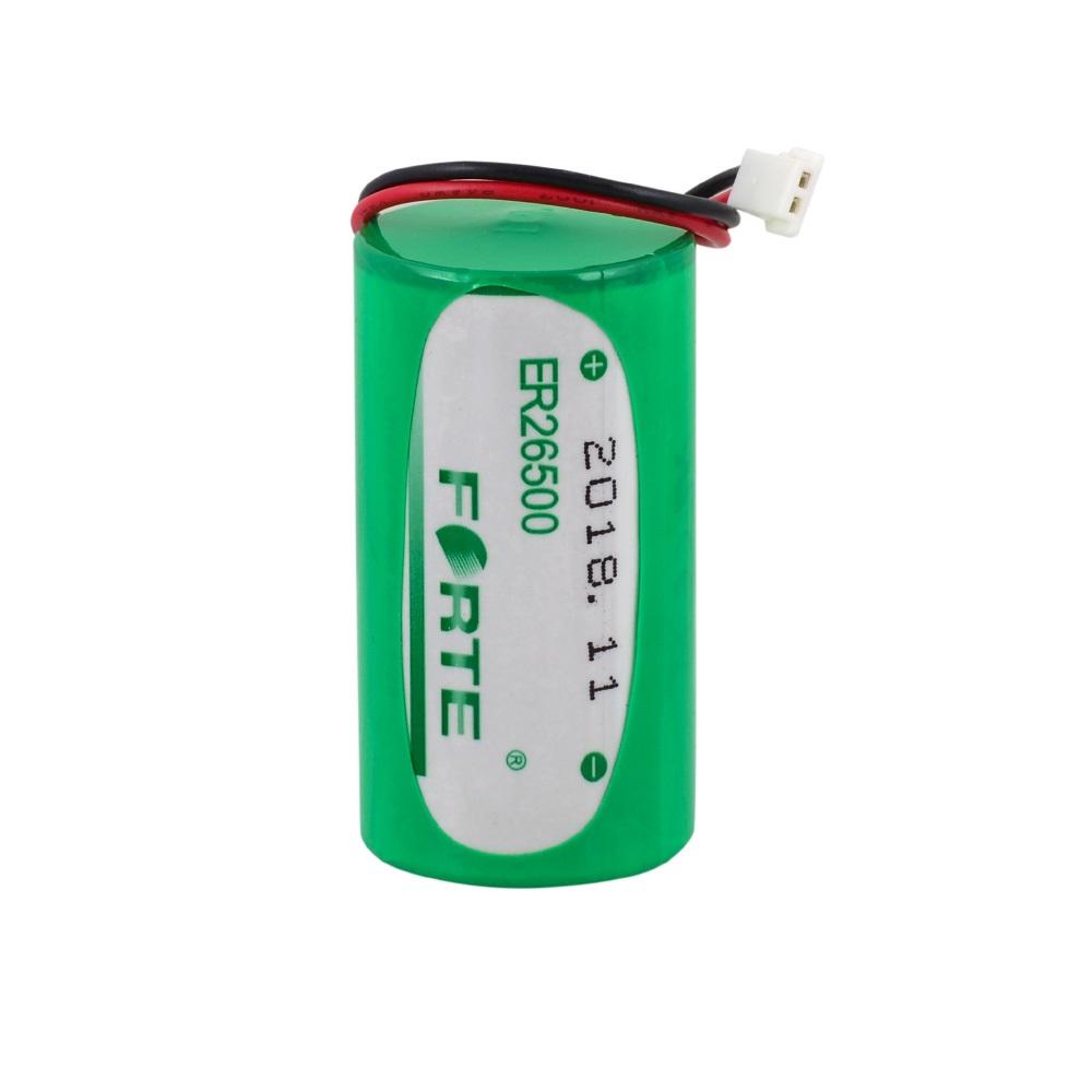 FORTE 3.6V ER26500 C Size Soketli Lithium Pil