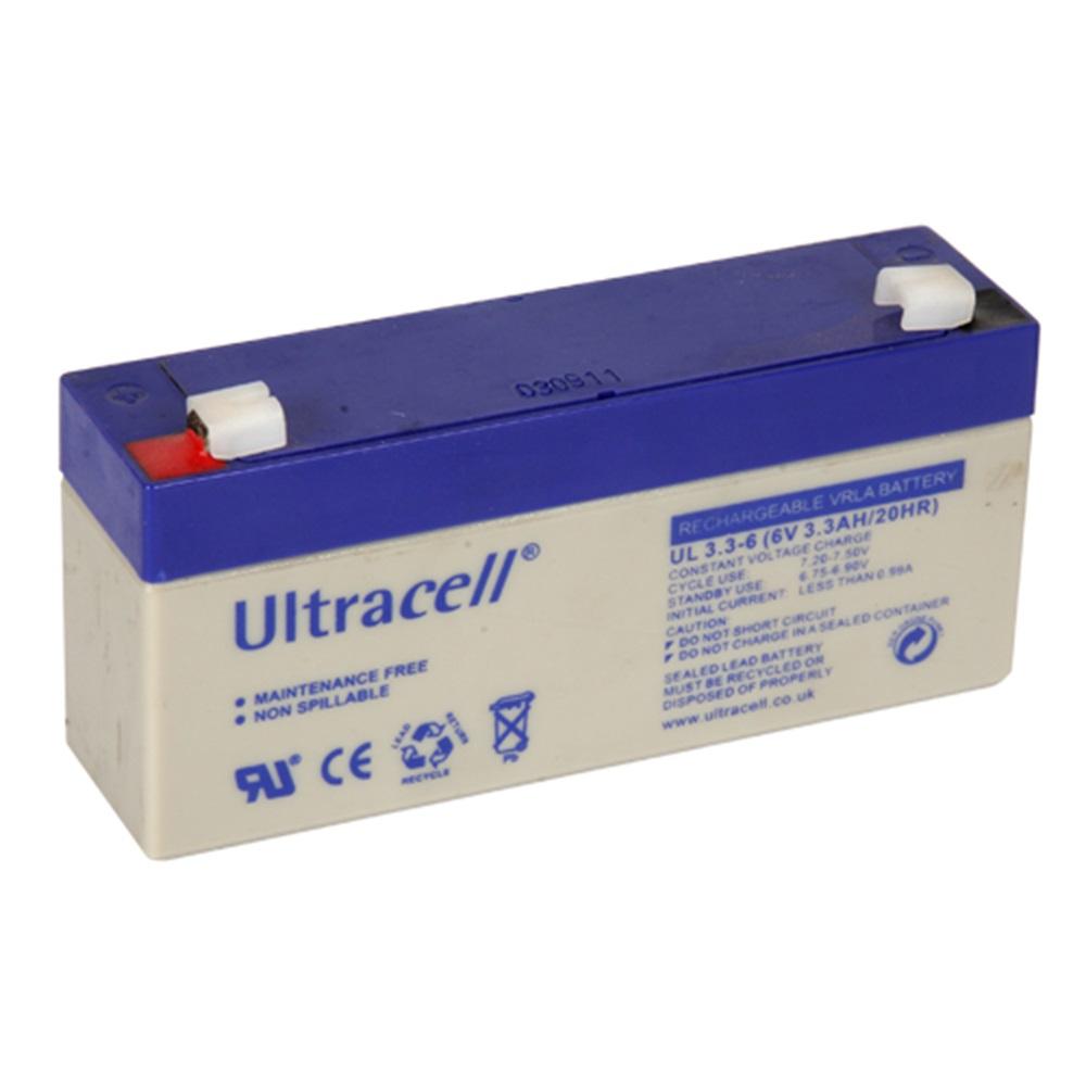 Ultracell 6V 3.3 Ah Bakımsız Kuru Akü