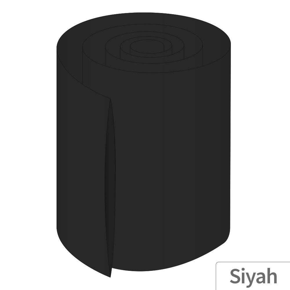 Power-Xtra 160mm 5 Metre PVC Heat Shrink Siyah