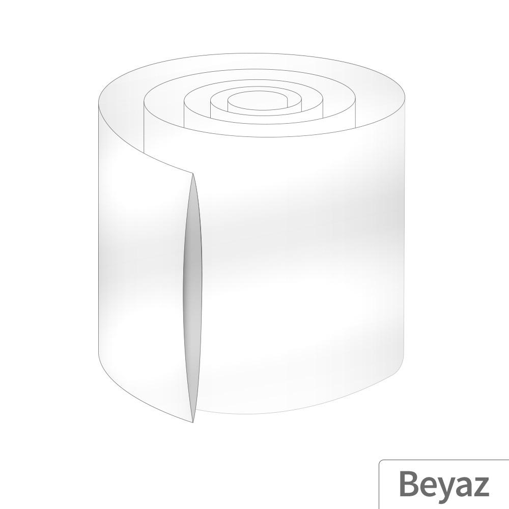 Power-Xtra 153mm 5 Metre PVC Heat Shrink Beyaz