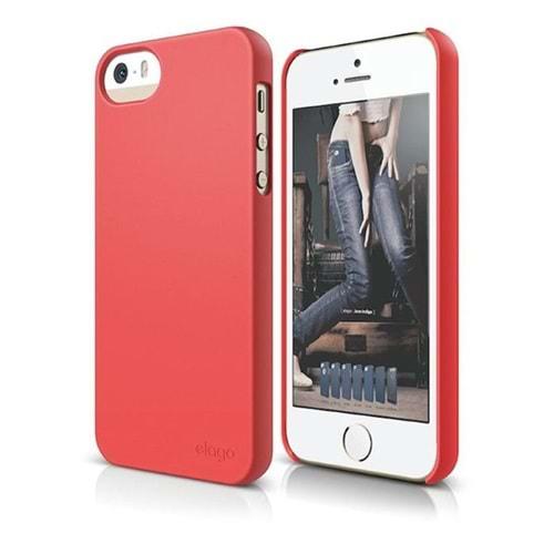 Elago S5 Slim Fit 2 iPhone 5 5S Se Kırmızı Kılıf