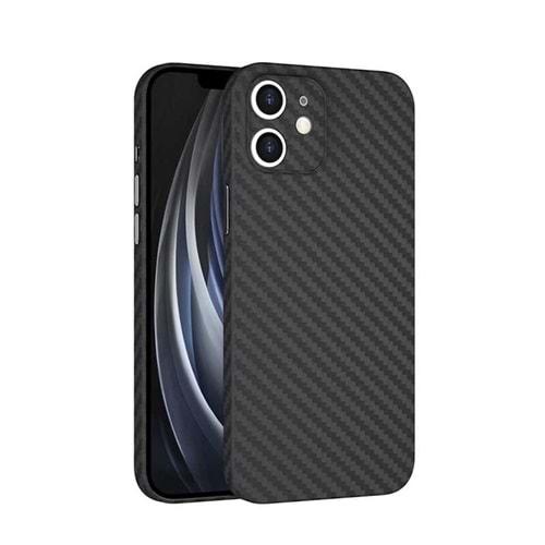 Wiwu Skin Carbon PP case iphone 12 5.4 Kılıf Black