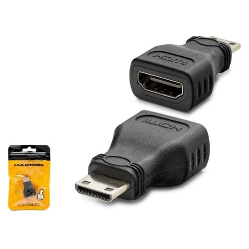 HADRON HDX1268(4488) ADAPTÖR ÇEVİRİCİ HDMI TO HDMI MİNİ F/M
