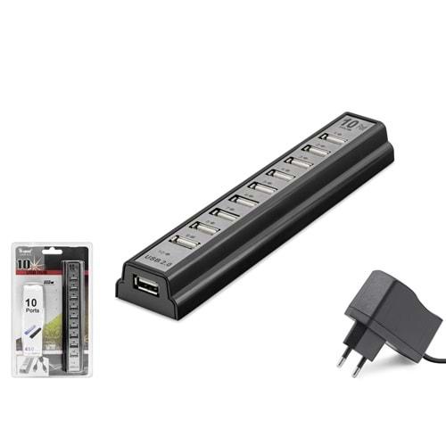 HADRON HDX7004(113) HUB USB 2.0 10 PORT