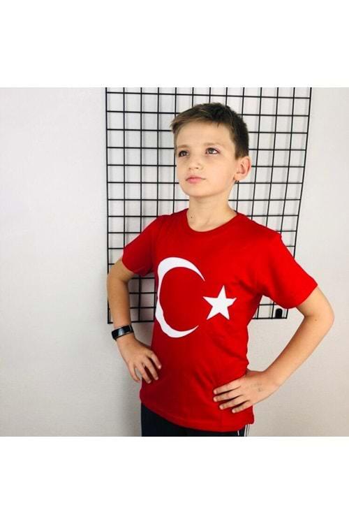 Türk Bayraklı Tişört